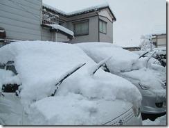 12月22日駐車場