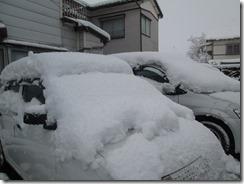 3月12日駐車場