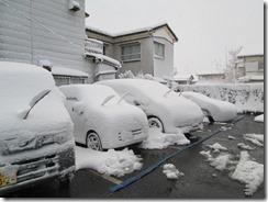 1月20日駐車場